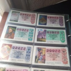 Lotería Nacional: LOTERIA NACIONAL AÑO 1983 COMPLETO, 50 DECIMOS. Lote 132741190