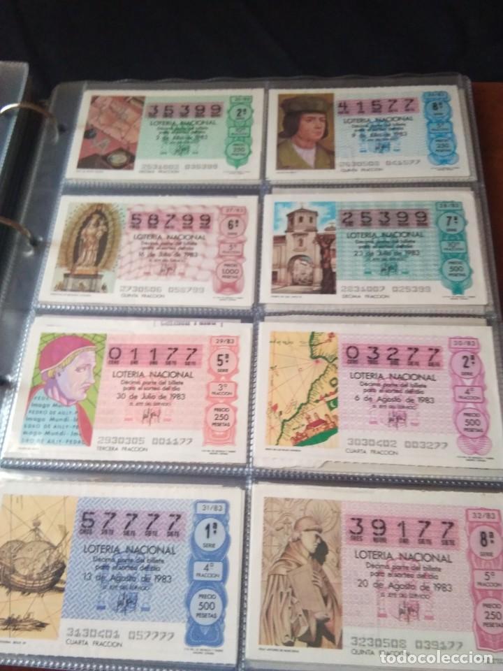 Lotería Nacional: LOTERIA NACIONAL AÑO 1983 COMPLETO, 50 DECIMOS - Foto 4 - 132741190