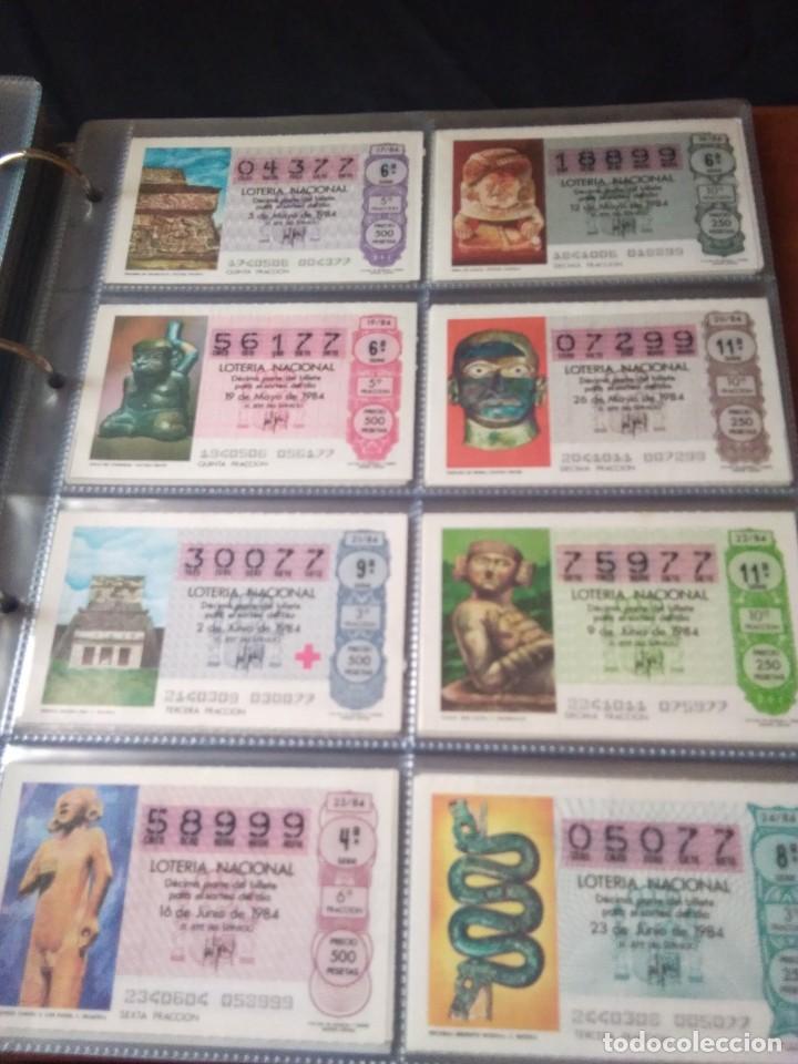 Lotería Nacional: LOTERIA NACIONAL AÑO 1984 COMPLETO, 50 DECIMOS - Foto 3 - 132741294