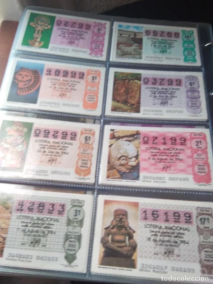 Lotería Nacional: LOTERIA NACIONAL AÑO 1984 COMPLETO, 50 DECIMOS - Foto 4 - 132741294