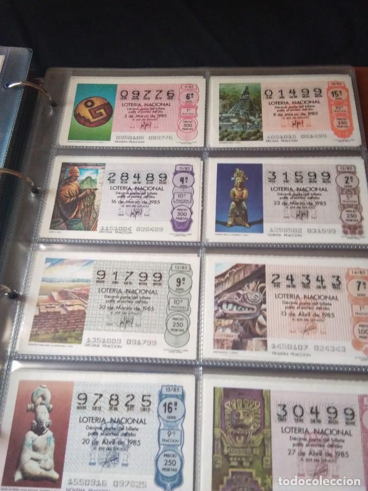 Lotería Nacional: LOTERIA NACIONAL AÑO 1985 COMPLETO 50 DÉCIMOS - Foto 2 - 132741402