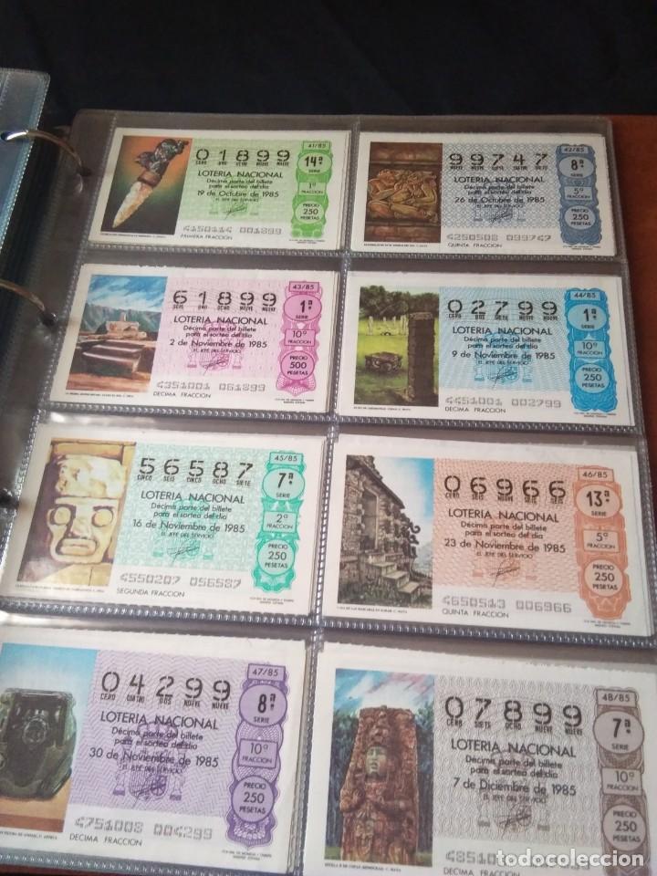 Lotería Nacional: LOTERIA NACIONAL AÑO 1985 COMPLETO 50 DÉCIMOS - Foto 6 - 132741402