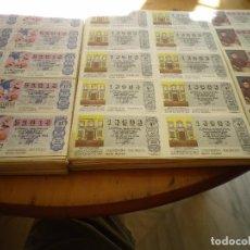 Lotería Nacional: 150 PLIEGOS LOTERIA NACIONAL AÑOS 80 Y 90 . Lote 132981498
