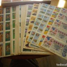 Lotería Nacional: 100 PLIEGOS DE LOTERIA NACIONAL AÑOS 80 Y 90 . Lote 132981798