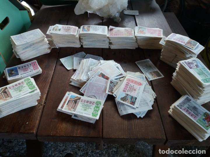 GRAN LOTE DE MUCHISIMOS BOLETOS DE LOTERIA (Coleccionismo - Lotería Nacional)