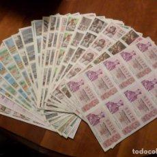 Lotería Nacional: GRAN LOTE PLIEGOS DE LOTERIA. Lote 141747110