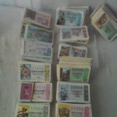 Lotería Nacional: LOTERIA NACIONAL CUPONES 15 AÑOS 1967 HASTA 1981 LOTE DE MAS DE 1000 CUPONES Nº15054 Y MUCHOS MAS. Lote 143051930