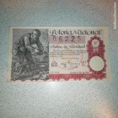Lotería Nacional: SORTEO 36 DE 1944. Lote 143636734