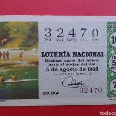 Lotería Nacional: LOTERIA NACIONAL 1968. Lote 145380845
