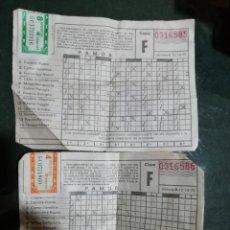 Nationale spanische Lotterie - Antigua modelo quiniela futbol usada jornada 6 12 10 75 - 145915554