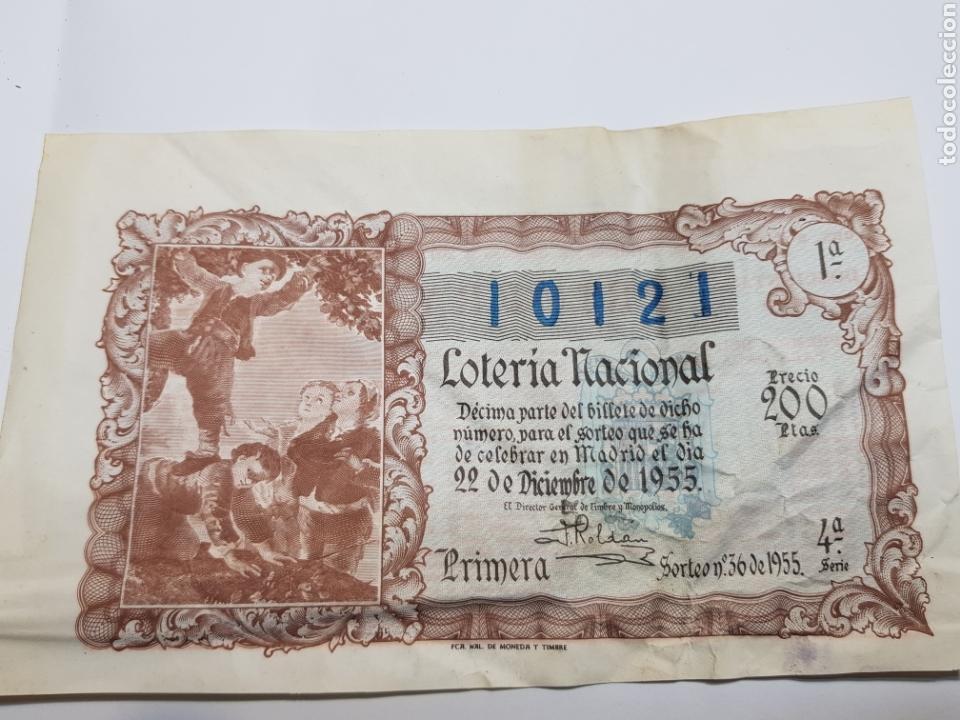 LOTERÍA NACIONAL DE NAVIDAD DEL AÑO 1955 (Coleccionismo - Lotería Nacional)