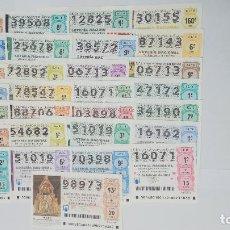 National Spanish Lottery - 29 DECIMOS DE LOTERA DIFERENTES DEL AÑO 2018 - 147631062