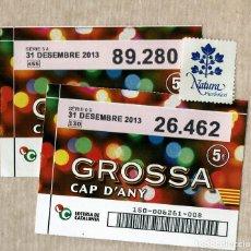 Lotería Nacional: LOTERIA GROSSA DE CAP D'ANY - 2013 - GENERALITAT DE CATALUNYA. Lote 147926022
