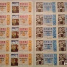 Lotería Nacional: 199 BILLETES DE LOTERÍA NACIONAL AÑOS 70. Lote 147784670