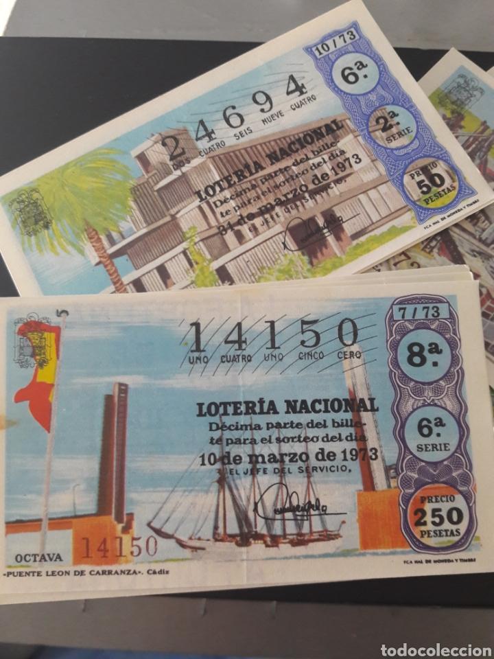 Lotería Nacional: Lotería Nacional año 1973 40 décimos de los sabados - Foto 2 - 148283592
