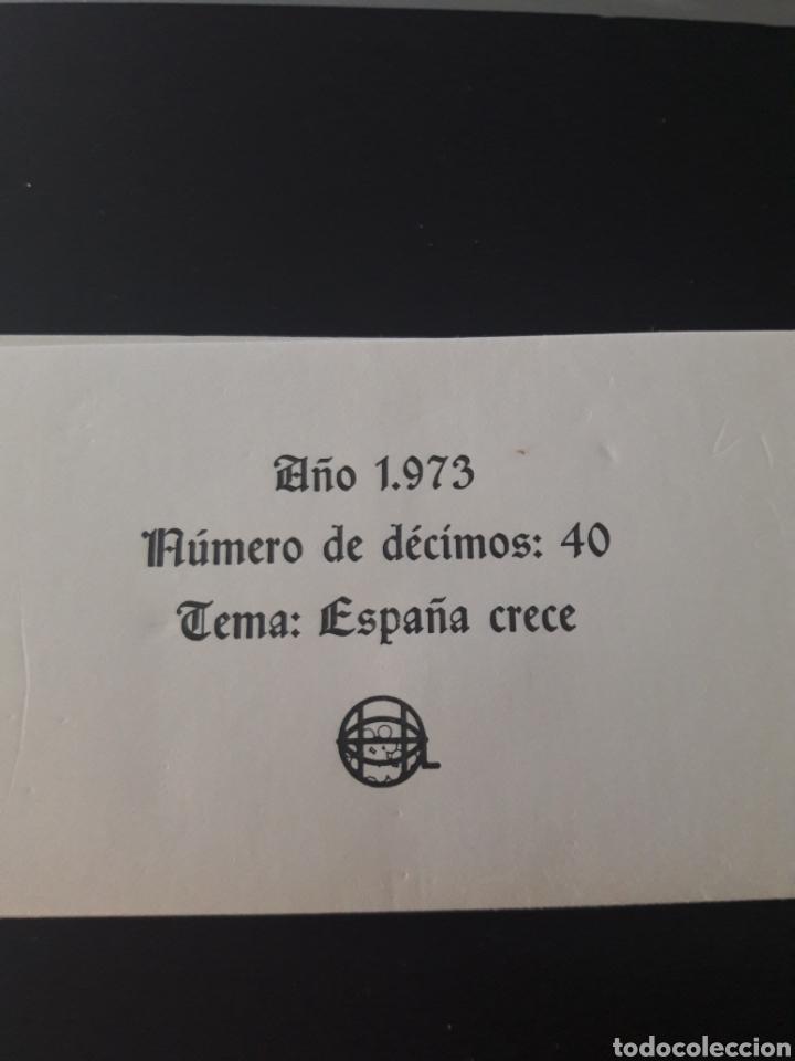 Lotería Nacional: Lotería Nacional año 1973 40 décimos de los sabados - Foto 3 - 148283592
