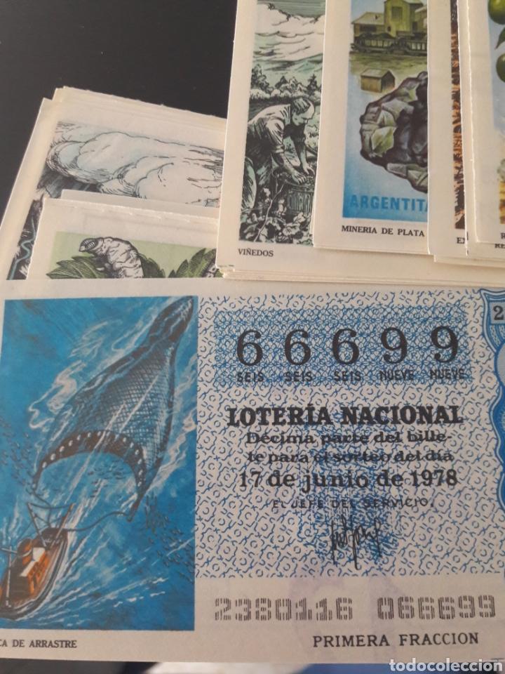 Lotería Nacional: Lotería Nacional año 1978 Los recursos naturales - Foto 2 - 148284648