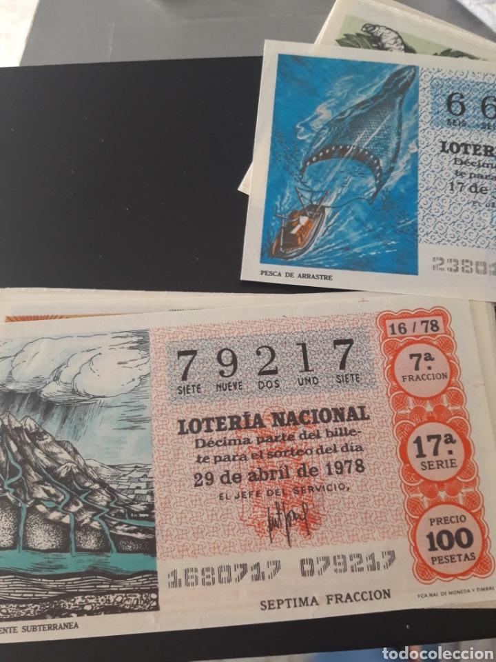 Lotería Nacional: Lotería Nacional año 1978 Los recursos naturales - Foto 3 - 148284648