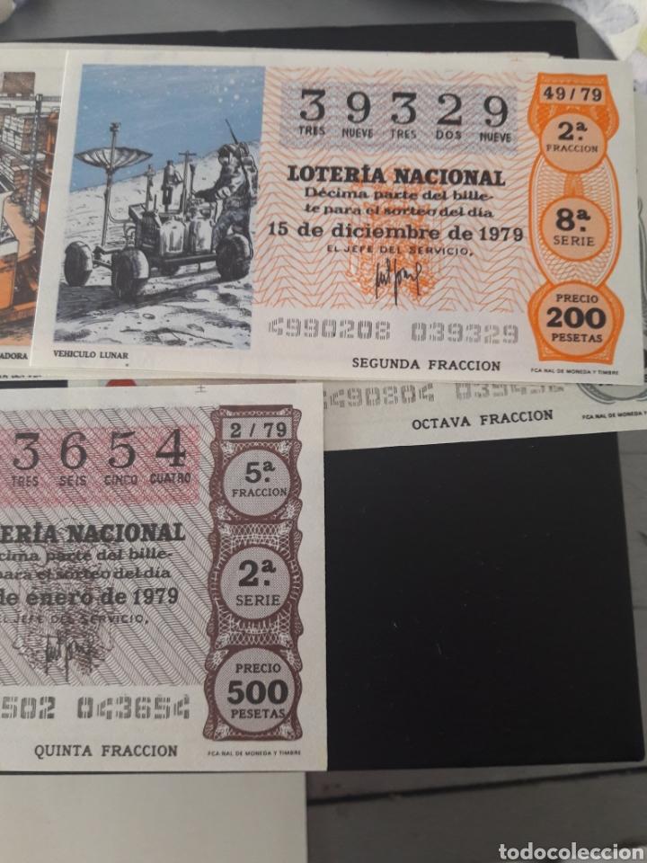 LOTERÍA NACIONAL AÑO 1979 (Coleccionismo - Lotería Nacional)