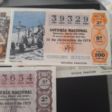 Lotería Nacional: LOTERÍA NACIONAL AÑO 1979. Lote 148286285