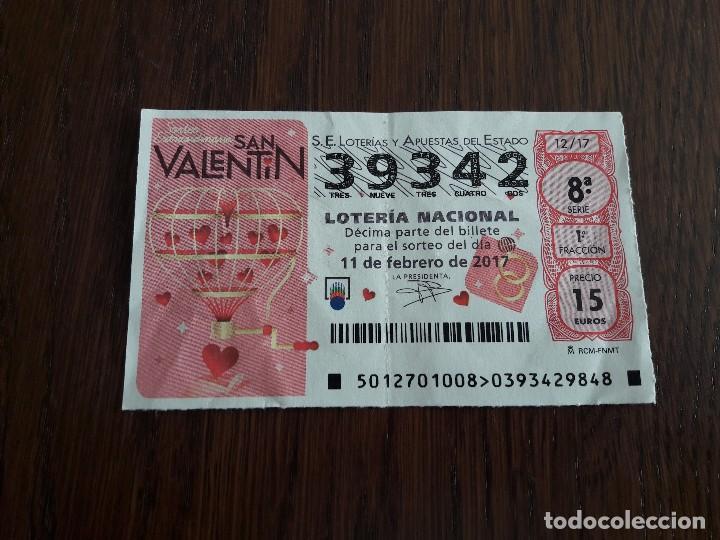 Décimo Lotería Nacional De Dia 11 02 17 Sorteo Comprar Lotería Nacional Antigua En Todocoleccion 148696670