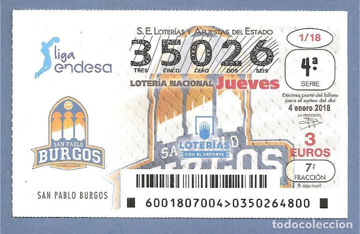 2018 LOTERÍA NACIONAL. JUEGO COMPLETO CON JUEVES Y SÁBADOS (Coleccionismo - Lotería Nacional)