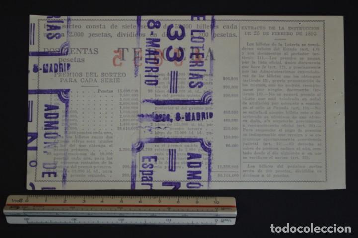 Lotería Nacional: Lotería Nacional. Sorteo Nº 36. 22 de diciembre de 1954. romanjuguetesymas. - Foto 2 - 151118182