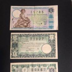 Lotería Nacional: LOTERIA AÑO 1941 COMPLETO. Lote 151647654