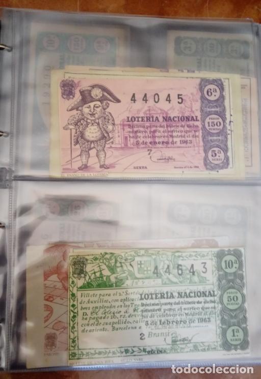 Lotería Nacional: COLECCIÓN COMPLETA DE LOTERÍA NACIONAL, DESDE EL AÑO 1963 INCLUSIVE HASTA LA FECHA ACTUAL. - Foto 8 - 151901426