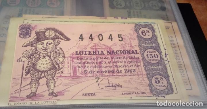 Lotería Nacional: COLECCIÓN COMPLETA DE LOTERÍA NACIONAL, DESDE EL AÑO 1963 INCLUSIVE HASTA LA FECHA ACTUAL. - Foto 12 - 151901426