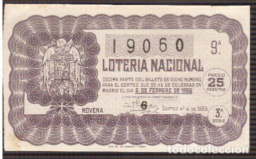 2 PAPELETAS DE LOTERIA MUY ANTIGUA LA QUE VES (Coleccionismo - Lotería Nacional)