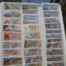 Lotería Nacional: 52 DÉCIMOS DEL AÑO 2010 SORTEO DEL JUEVES. Lote 154722754