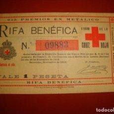 Lotería Nacional: CRUZ ROJA. Lote 157035626