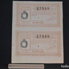Lotería Nacional: LOTERÍA NACIONAL. SORTEO Nº 8. 12 DE MARZO DE 1928. ROMANJUGUETESYMAS.. Lote 157100962
