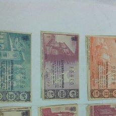 Lotería Nacional: 20 DÉCIMOS DE LOTERÍA NACIONAL AÑO 1965. Lote 157697321