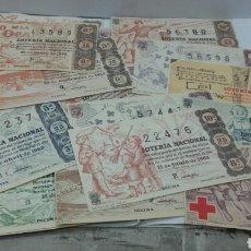 Lotería Nacional: 20 DÉCIMOS DE LOTERÍA NACIONAL AÑO 1963. Lote 157706909