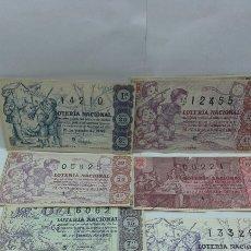 Lotería Nacional: 20 DÉCIMOS DE LOTERÍA NACIONAL AÑO 1963. Lote 157707957