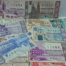 Lotería Nacional: 20 DÉCIMOS DE LOTERÍA NACIONAL AÑO 1963. Lote 157708397