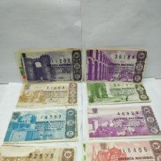 Lotería Nacional: 20 DÉCIMOS DE LOTERÍA NACIONAL AÑO 1962. Lote 158526150