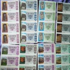 Lotería Nacional: LOTERÍA AÑO 1985 592 DECIMOS. Lote 158588958
