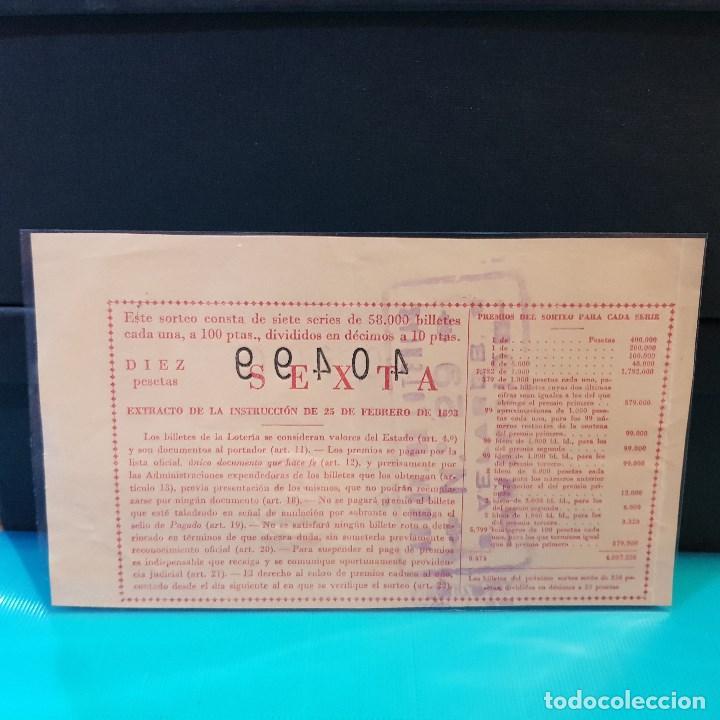 Lotería Nacional: Lotería nacional del año 1954 sorteo 8 - Foto 2 - 160059978