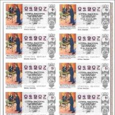 Lotería Nacional: 1991 LOTE DE 42 HOJAS ENTERAS LOTERÍA NACIONAL.- LISTA DE SORTEOS AL PIE DE LA IMAGEN. Lote 162181786