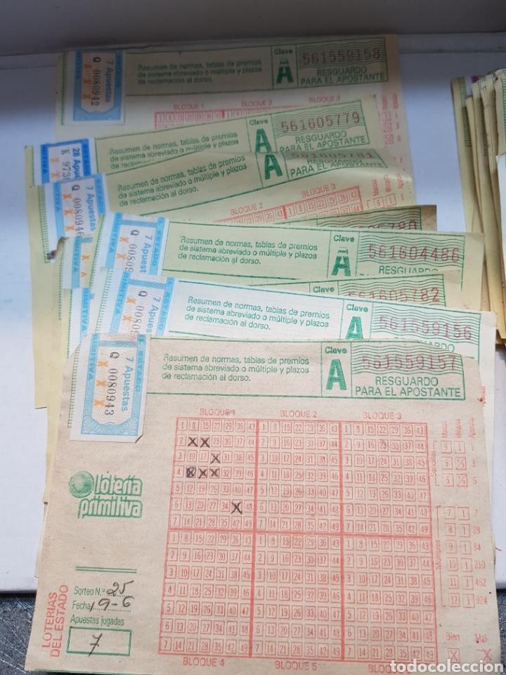 Lotería Nacional: Boletos primitiva antiguos lote más de 55 - Foto 2 - 164631569
