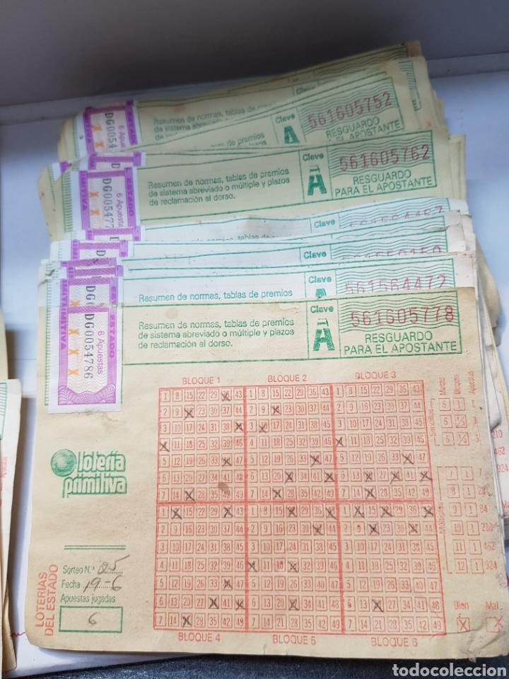 Lotería Nacional: Boletos primitiva antiguos lote más de 55 - Foto 3 - 164631569