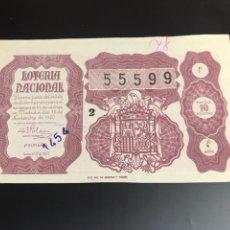 Lotería Nacional: LOTERIA AÑO 1950 SORTEO 32. Lote 165719372