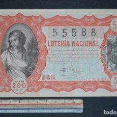 Lotería Nacional: LOTERÍA NACIONAL. SORTEO Nº 36. 22 DE DICIEMBRE DE 1949. ROMANJUGUETESYMAS.. Lote 166703726