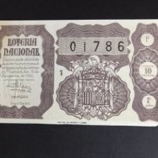 Lotería Nacional: LOTERIA AÑO 1950 SORTEO 32. Lote 166939526