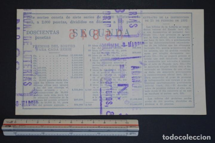 Lotería Nacional: Lotería Nacional. Sorteo Nº 36. 22 de diciembre de 1954. romanjuguetesymas. - Foto 2 - 168488828