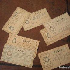 Lotería Nacional: 8 DECIMOS LOTERIA NACIONAL DE 1906. Lote 169945528