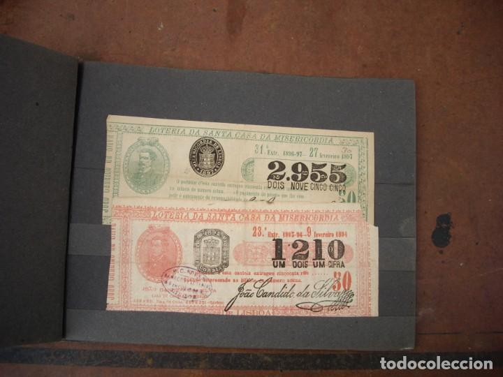 Lotería Nacional: loteria da santa casa da misericordia portugal 8 numeros de 1893 hasta 1903 - Foto 2 - 169948408